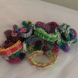 Jewelry - Rainbow loom bracelets
